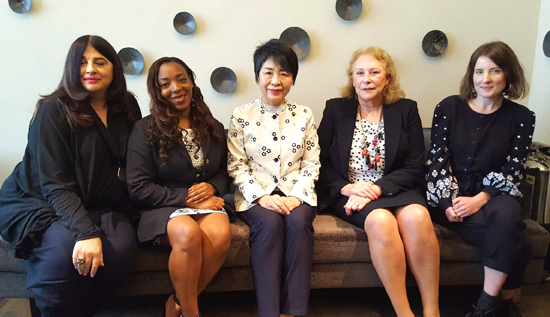 Meeting with Japans Minister of Justice, Ms Yoko Kamikawa