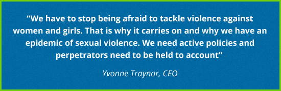 Yvonne Traynor, CEO - Quote